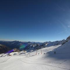 Daunscharte und Abfahrt Nr. 21 am Stubaier Gletscher - ©Skiinfo