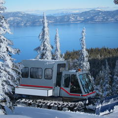 Homewood Snowcat - ©Homewood Mountain Resort