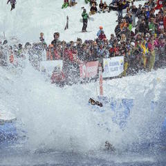 Pond Skimming Rites of Spring Arrive - ©Sunshine Village