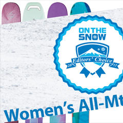 16/17 Editors' Choice women's All-Mountain Back skis