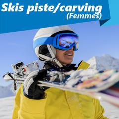 skis de piste/carving 2017 (modèles femmes) - ©Gorilla
