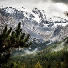 Vars - Première neige de la saison (le 15 septembre 2016) - ©Facebook Vars
