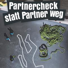 Neues Plakat zum Partnercheck - ©DAV - Deutscher Alpenverein