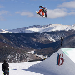 Tyler Flanagan al Mountain Dew Tour di Breckenridge, USA