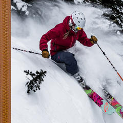 2017 women's ski jackets - ©Liam Doran