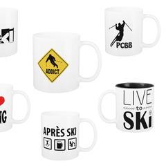 Mugs et tasses à café skieur