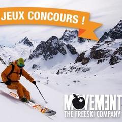 Jeu concours : Movement t'équipe pour la freerando - ©Movement