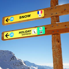 conditions d'enneigement des stations pour Noël - ©Gamut - Fotolia.com