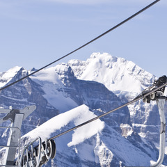 Lake Louise chairlift, Alberta