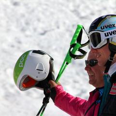 Mit dabei beim World Ski Test 2012: Hannes Reichelt - ©Skiinfo.de/Sebastian Lindemeyer