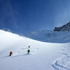 Freeride à Zermatt