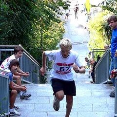Viel Kraftausdauer war beim Treppenlauf gefragt. - ©Petra Rapp