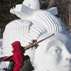 Breckenridge Snow Sculpting