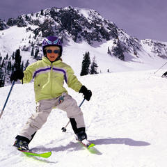 Snowbird ski schoolers