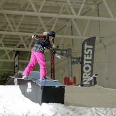 British Indoor Championships at Snozone Castleford