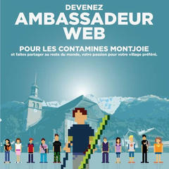 Devenez ambassadeur web des Contamines-Montjoie