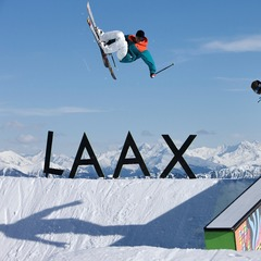 Freestylers in Laax
