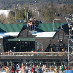 The base lodge at Pats Peak. Photo Courtesy of Pats Peak.