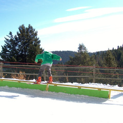 Great Divide's terrain parks. Photo courtesy of Great Divide Ski Area.