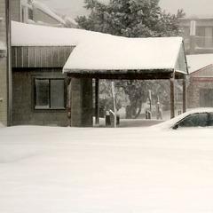 A car buried at Snowshoe Mountain Resort. Photo Courtesy of Snowshoe Mountain Resort