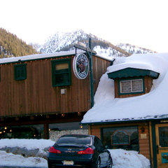 The iconic Silver Fork Lodge & Restaurant in Big Cottonwood Canyon