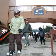 Crystal Mountain Resort has evolved into Washington's largest ski area. Photo by Becky Lomax.