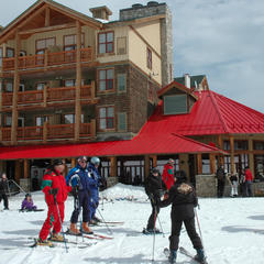Trickle Creek Lodge at Kimberley Mountain Resort. Photo by Becky Lomax.