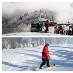Killington (top) opened to the general public for the first time this season on Nov. 5 with Sunday River (bottom) following suit the next day. Photos Courtesy of Killington and Sunday River.