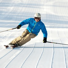 Nothing like fresh corduroy in the morning. Photo Courtesy of Stratton Mountain.