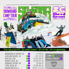 The So-Gnar Snowboard Tour.