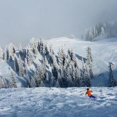 Skiing in Kitzbuehel. Dec. 1, 2012