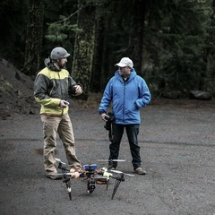Mike Hagadorn and Tim Shisler discuss how to best get a heli shot