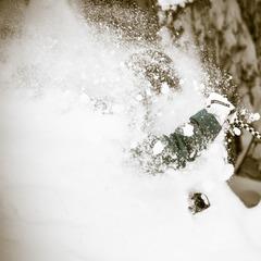 Skier Chris Shalbot - ©Liam Doran