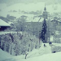 Le Grand-Bornand. 18 Dec. 18 2012