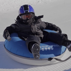 Tubing in the Drop Zone Tubing Park. Photo Courtesy of Mountain Creek.