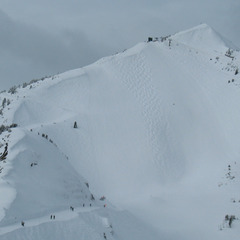 Crystal Bowl at Kicking Horse. Photo by Becky Lomax.