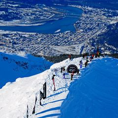 Revelstoke, 1ère étape du Freeride World tour 2013 - ©Freerde World Tour