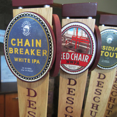 Deschutes Brewery Red Chair beer was crafted in honor of Mt. Bachelor's Red Triple. Photo by Iwona Erskiine-Kellie/Flickr.