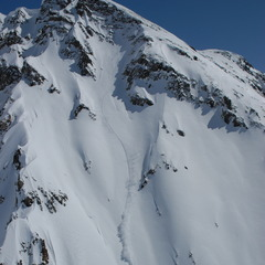 A steep face at Silverton Mountain. - ©Silverton Mountain