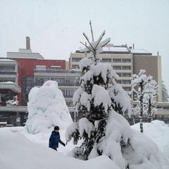 Engelberg snow Jan. 11, 2013