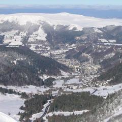 Point neige dans le Massif Central (07/02/2013)