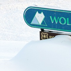 Wolf Creek greets skiers and riders with copious amounts of powder.