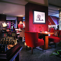 The lobby of the Fairmont has plenty of places to grab a quiet drink with your special someone during Valentine's Day.