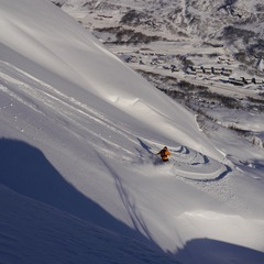 Powder in Roldal, Norway Feb. 6, 2013 - ©Røldal Skisenter