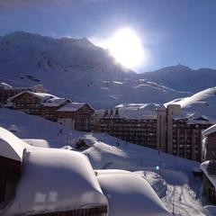 Poudreuse  gogo  Val Thorens...