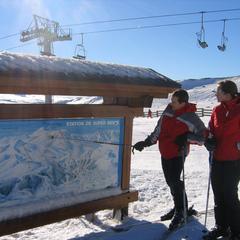 Point neige dans le Massif Central (21/02/2013)