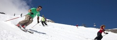 Summer skiing in Tignes