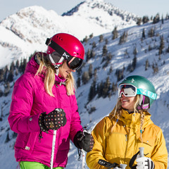Snowbird has ample terrain to test and testers were always comparing notes on which zone was best. - ©Liam Doran