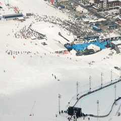 Site of the Winter X Games Tignes - ©andyparant.com/Tignes