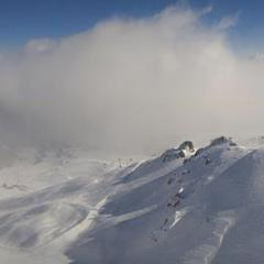 Fresh snow in Courchevel. March 15, 2013
